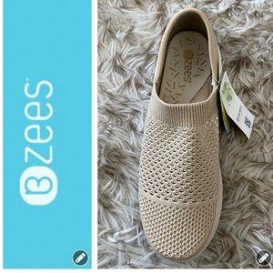 NWT Bzees Charlie Slip-On Sneakers
